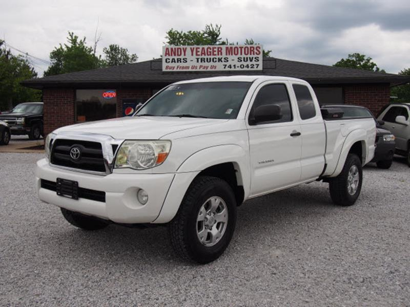 2008 Toyota Tacoma for sale at Andy Yeager Motors in Harrison AR