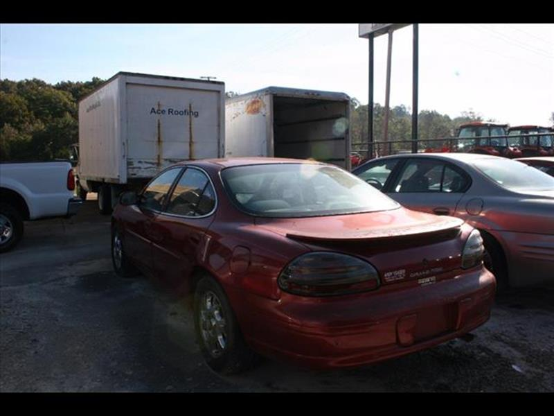 1998 Pontiac Grand Prix for sale at Andy Yeager Motors in Harrison AR
