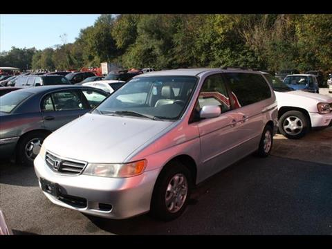 2002 Honda Odyssey for sale at Andy Yeager Motors in Harrison AR