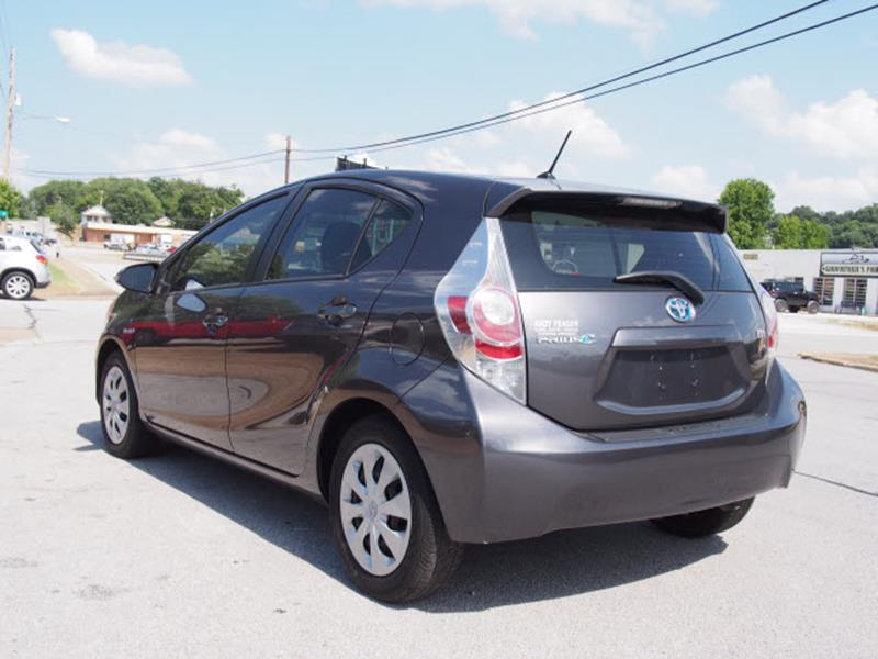 2012 Toyota Prius c for sale at Andy Yeager Motors in Harrison AR