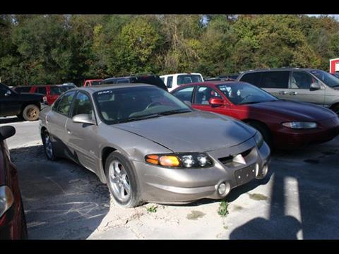 2002 Pontiac Bonneville for sale at Andy Yeager Motors in Harrison AR
