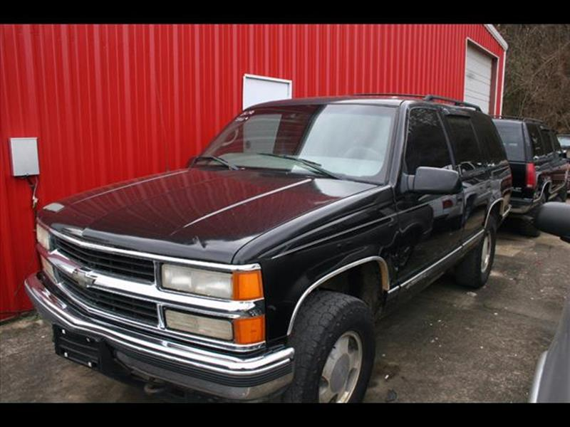 1999 Chevrolet Tahoe for sale at Andy Yeager Motors in Harrison AR