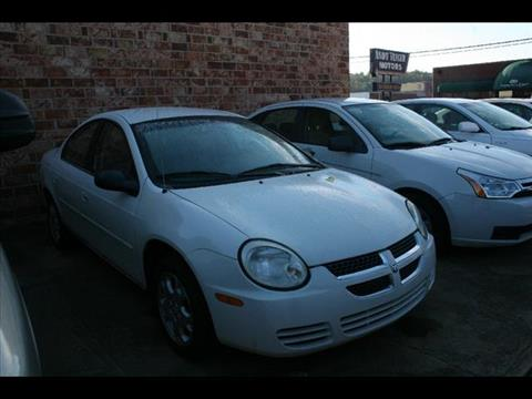 2005 Dodge Neon for sale at Andy Yeager Motors in Harrison AR