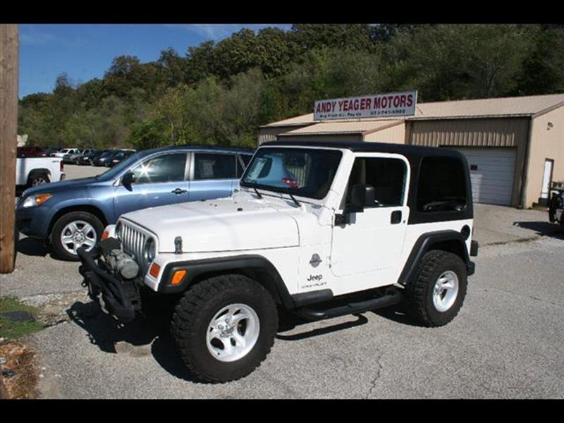 2006 Jeep Wrangler for sale at Andy Yeager Motors in Harrison AR