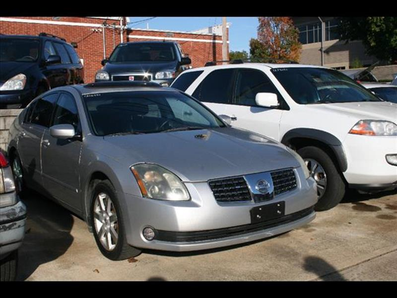 2004 Nissan Maxima for sale at Andy Yeager Motors in Harrison AR