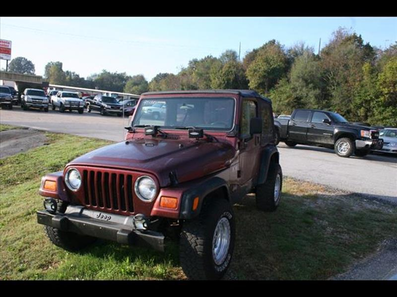 2002 Jeep Wrangler for sale at Andy Yeager Motors in Harrison AR