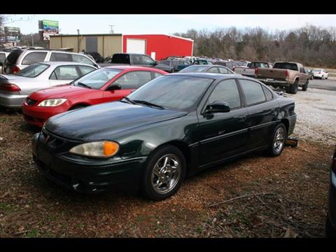 2002 Pontiac Grand Am for sale at Andy Yeager Motors in Harrison AR