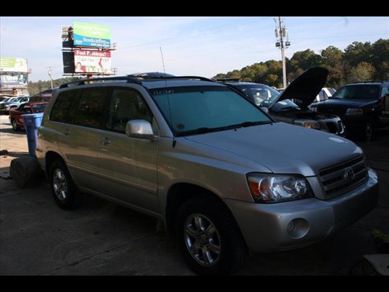 2007 Toyota Highlander for sale at Andy Yeager Motors in Harrison AR