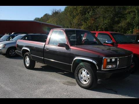 1989 GMC Sierra 2500 for sale at Andy Yeager Motors in Harrison AR