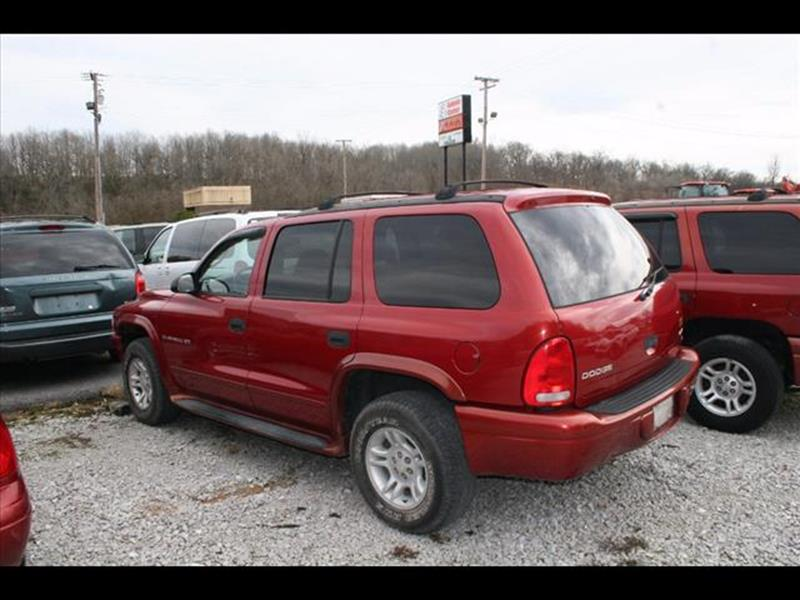 2001 Dodge Durango for sale at Andy Yeager Motors in Harrison AR