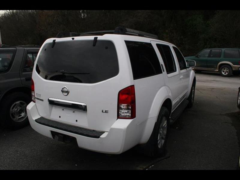 2005 Nissan Pathfinder for sale at Andy Yeager Motors in Harrison AR