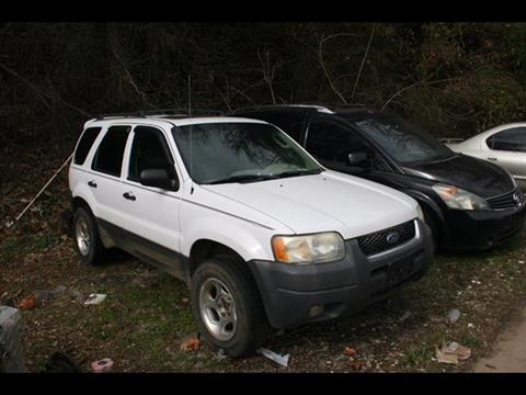 2003 Ford Escape for sale at Andy Yeager Motors in Harrison AR