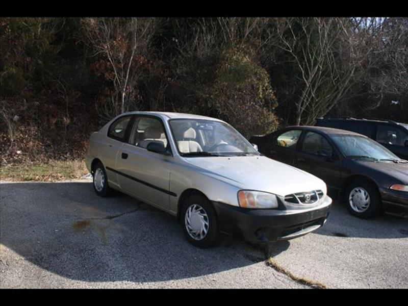 2001 Hyundai Accent for sale at Andy Yeager Motors in Harrison AR