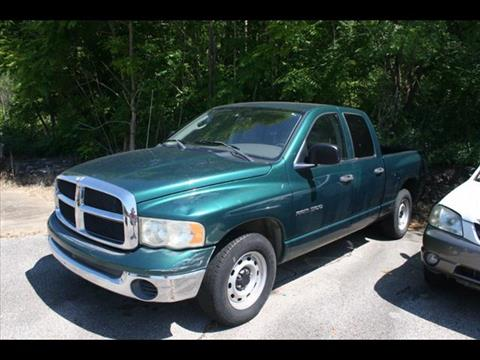 2003 Dodge Ram Pickup 1500 for sale at Andy Yeager Motors in Harrison AR