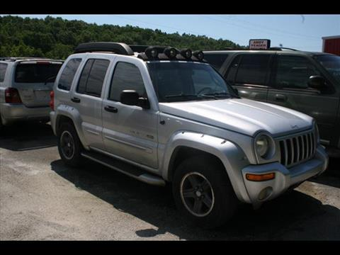 2003 Jeep Liberty for sale at Andy Yeager Motors in Harrison AR