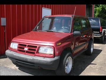 1996 GEO Tracker for sale at Andy Yeager Motors in Harrison AR