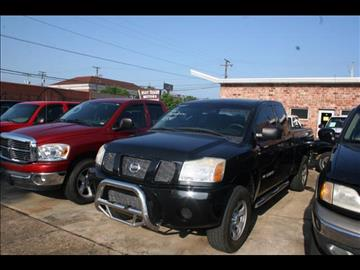 2005 Nissan Titan for sale at Andy Yeager Motors in Harrison AR