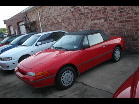1991 Mercury Capri for sale at Andy Yeager Motors in Harrison AR