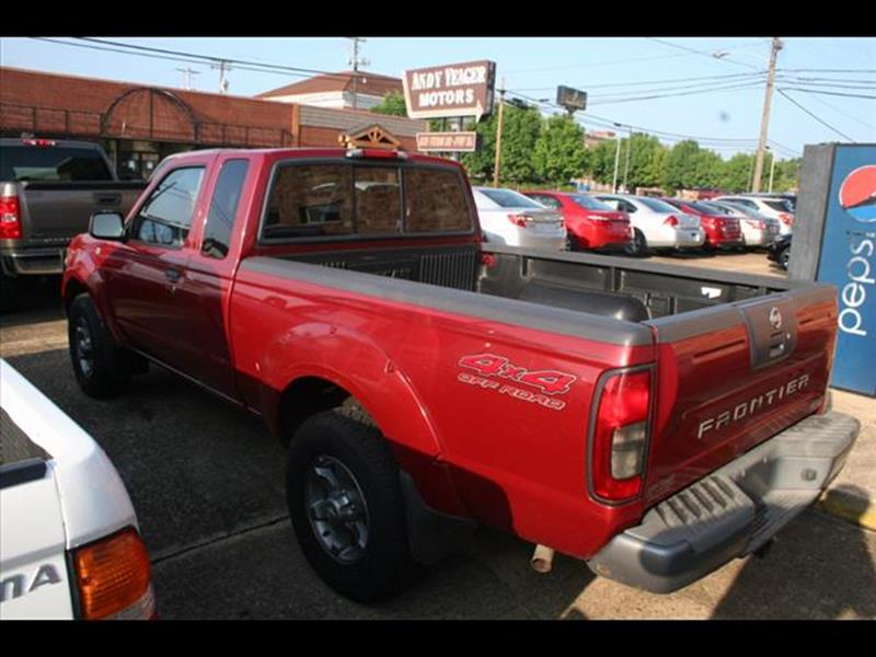 2004 Nissan Frontier for sale at Andy Yeager Motors in Harrison AR