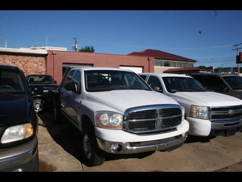 2006 Dodge Ram Pickup 2500 for sale at Andy Yeager Motors in Harrison AR