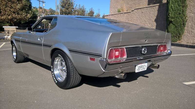 1972 Ford Mustang Mach1 In Martinez Ca Golden State Company