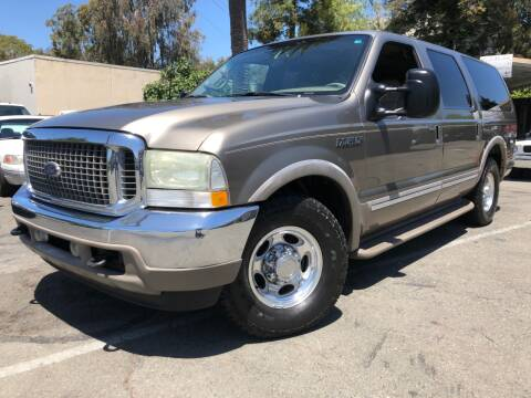 2002 Ford Excursion for sale at Martinez Truck and Auto Sales in Martinez CA