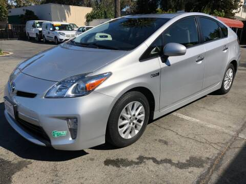 2013 Toyota Prius Plug-in Hybrid for sale at Martinez Truck and Auto Sales in Martinez CA