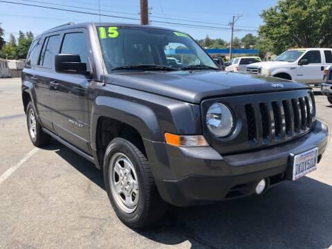 2015 Jeep Patriot for sale at Martinez Truck and Auto Sales in Martinez CA