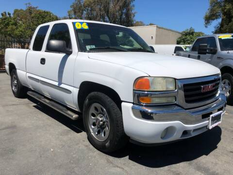 2006 GMC Sierra 1500 for sale at Martinez Truck and Auto Sales in Martinez CA