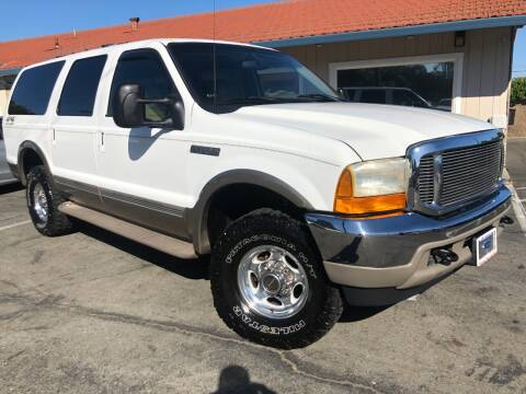 2000 Ford Excursion for sale at Martinez Truck and Auto Sales in Martinez CA