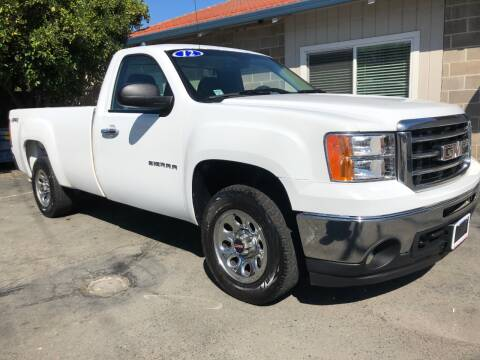 2012 GMC Sierra 1500 for sale at Martinez Truck and Auto Sales in Martinez CA