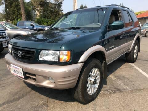 2000 Honda Passport for sale at Martinez Truck and Auto Sales in Martinez CA