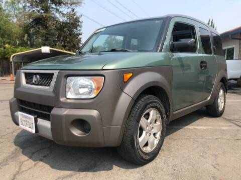 2003 Honda Element for sale at Martinez Truck and Auto Sales in Martinez CA