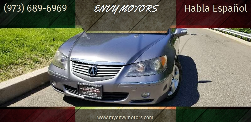 Acura RL SHAWD WNavi WTech In PATERSON NJ ENVY MOTORS - Acura rl 2006 for sale
