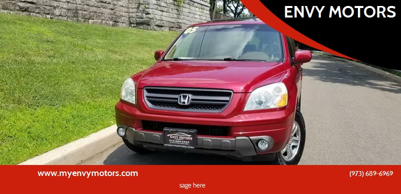 2005 Honda Pilot For Sale At ENVY MOTORS In Paterson NJ