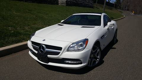 2014 Mercedes-Benz SLK for sale at ENVY MOTORS LLC in Paterson NJ