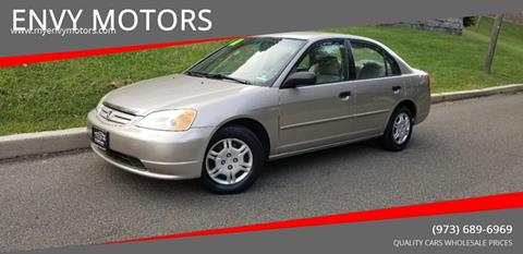 2001 Honda Civic for sale in Paterson, NJ