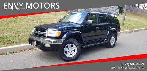 2001 Toyota 4Runner for sale at ENVY MOTORS LLC in Paterson NJ