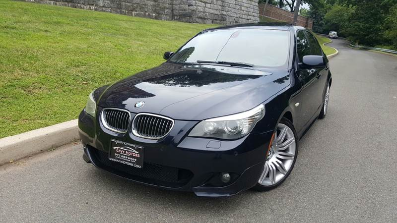 2008 BMW 5 Series for sale at ENVY MOTORS LLC in Paterson NJ