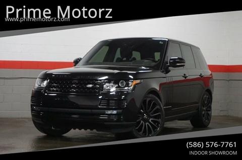 2017 Land Rover Range Rover for sale in Warren, MI