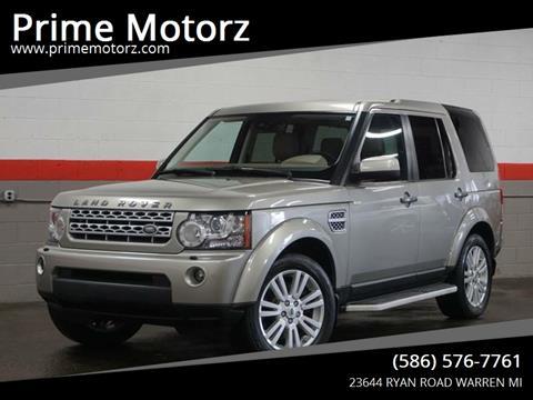 2011 Land Rover LR4 for sale in Warren, MI