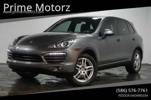 2012 Porsche Cayenne for sale in Warren, MI
