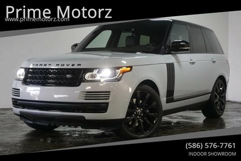 2016 Land Rover Range Rover for sale in Warren, MI