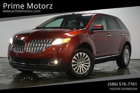 2014 Lincoln Mkx For Sale Carsforsalecom