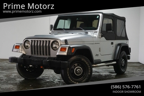 1998 Jeep Wrangler for sale in Warren, MI