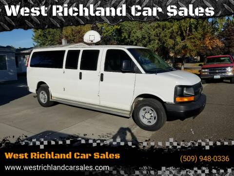 2003 Chevrolet Express Passenger 3500 for sale at West Richland Car Sales in West Richland WA