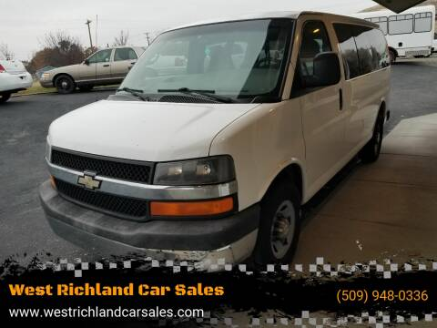 2007 Chevrolet Express Passenger LS 3500 for sale at West Richland Car Sales in West Richland WA