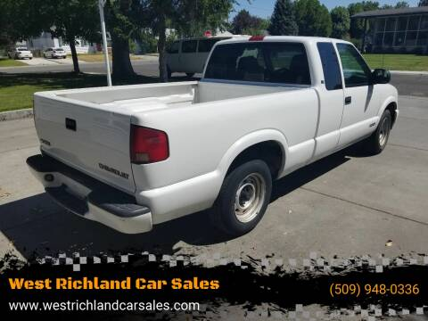 1999 Chevrolet S-10 LS for sale at West Richland Car Sales in West Richland WA