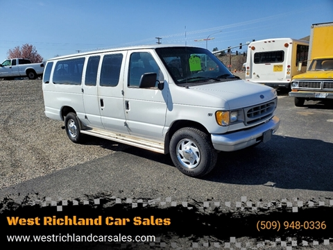 1997 Ford E-250 for sale at West Richland Car Sales in West Richland WA