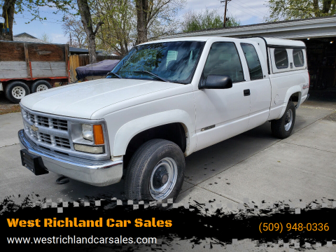 1998 Chevrolet C/K 2500 Series K2500 Cheyenne for sale at West Richland Car Sales in West Richland WA